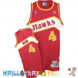 Maillot NBA Atlanta Hawks NO.4 Webb Rouge Pas Cher