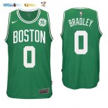 Maillot NBA Boston Celtics NO.0 Avery Bradley Vert 2017-2018 Pas Cher