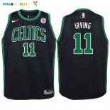 Maillot NBA Enfant Boston Celtics NO.11 Kyrie Irving Noir Pas Cher