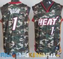 Maillot NBA 2013 Camouflage NO.1 Bosh Pas Cher