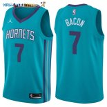 Maillot NBA Charlotte Hornets NO.7 Dwayne Bacon Vert Icon 2017-2018 Pas Cher