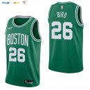 Maillot NBA Boston Celtics NO.26 Jabari Bird Vert Icon 2017-2018 Pas Cher