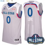 Maillot NBA 2017 All Star NO.0 kevin love Gray Pas Cher