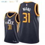 Maillot NBA Utah Jazz NO.31 Georges Niang Marine Icon 2018 Pas Cher