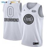 Maillot NBA 2018 All Star NO.0 Andre Drummond Blanc Pas Cher