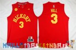 Maillot NBA Indiana Pacers NO.3 George Hill Rouge Pas Cher