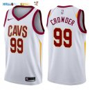 Maillot NBA Cleveland Cavaliers NO.99 Jae Crowder Blanc Association 2017-2018 Pas Cher