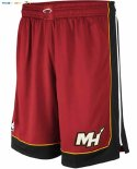 Pantalon NBA Miami Heat Nike Rouge Statement Pas Cher