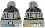 New Era Bonnet NBA 2016 Brooklyn Nets Gris Pas Cher