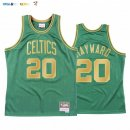 Maillot NBA CNY Throwback Boston Celtics NO.20 Gordon Hayward Vert 2020