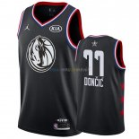 Maillot NBA 2019 All Star NO.77 Luka Doncic Noir Pas Cher