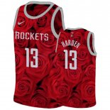 Maillot Houston Rockets Nike NO.13 James Harden Rouge Pas Cher