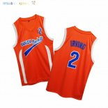 Maillot NBA Film Basket-Ball Uncle Drew NO.2 Irving Rouge Pas Cher