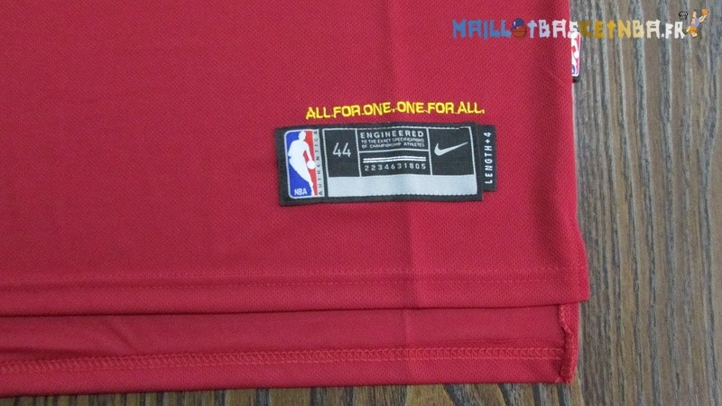 Maillot NBA Cleveland Cavaliers Nike NO.3 Isaiah Thomas Rouge Pas Cher