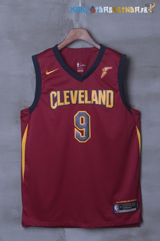 Maillot NBA Cleveland Cavaliers Nike NO.9 Dwyane Wade Rouge Pas Cher