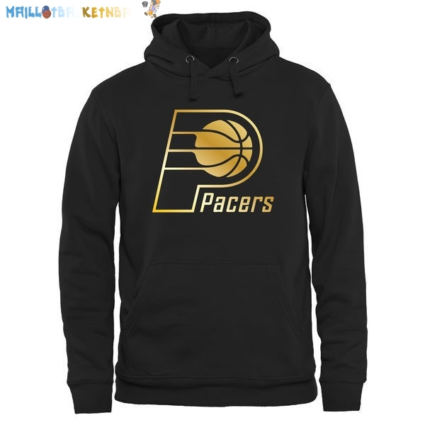 Hoodies NBA Indiana Pacers Noir Or Pas Cher