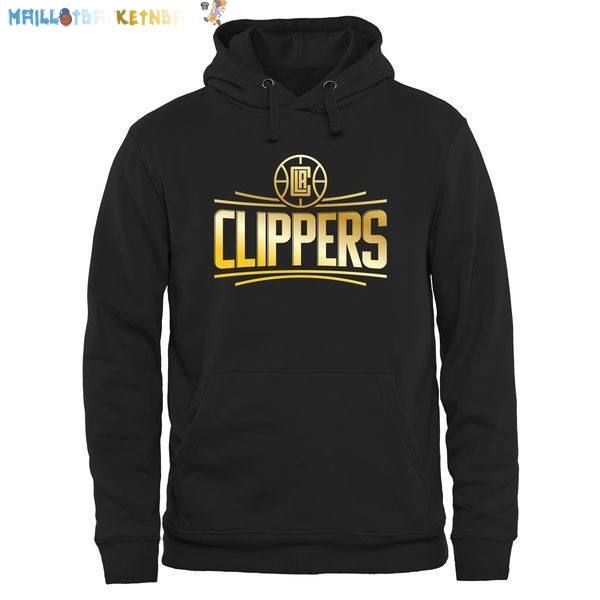 Hoodies NBA Los Angeles Clippers Noir Or Pas Cher