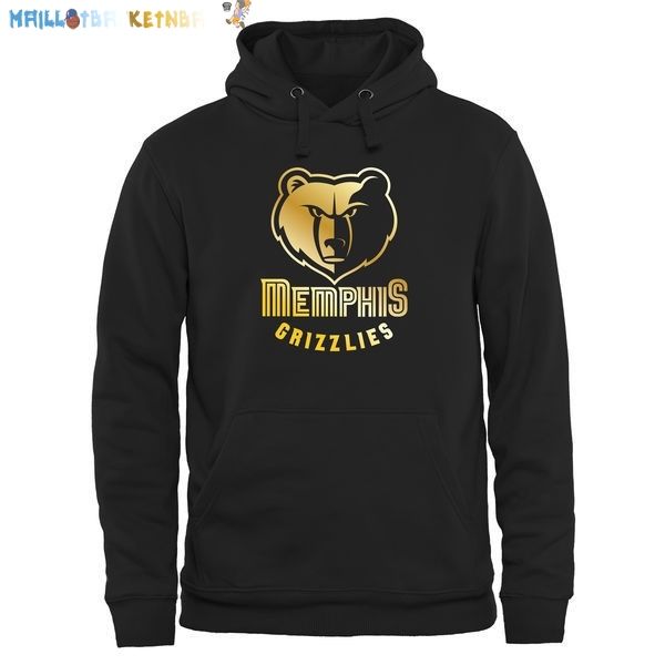 Hoodies NBA Memphis Grizzlies Noir Or Pas Cher