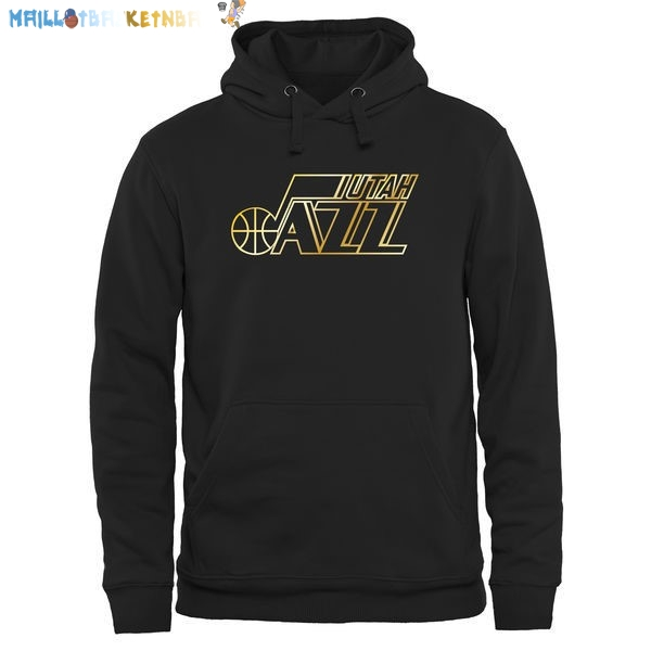 Hoodies NBA Utah Jazz Noir Or Pas Cher