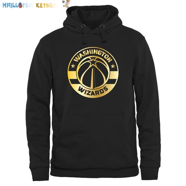Hoodies NBA Washington Wizards Noir Or Pas Cher