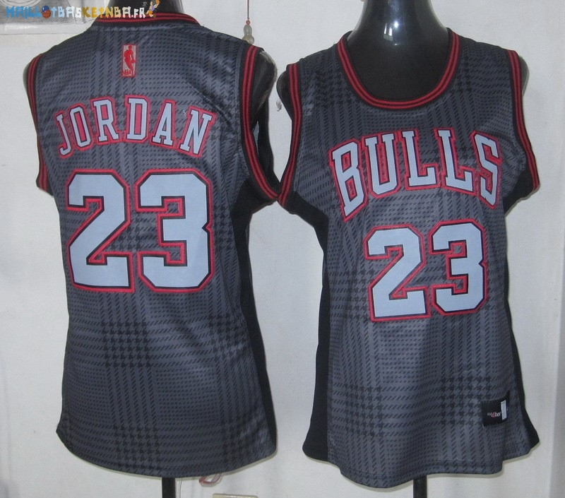 Maillot NBA Femme 2013 Static Fashion NO.23 Jordan Pas Cher