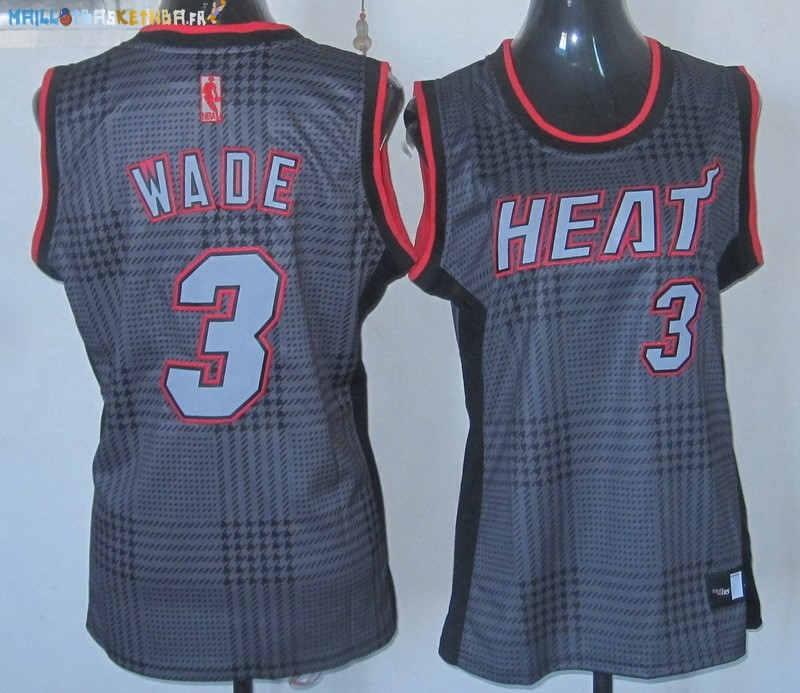 Maillot NBA Femme 2013 Static Fashion NO.3 Wade Pas Cher