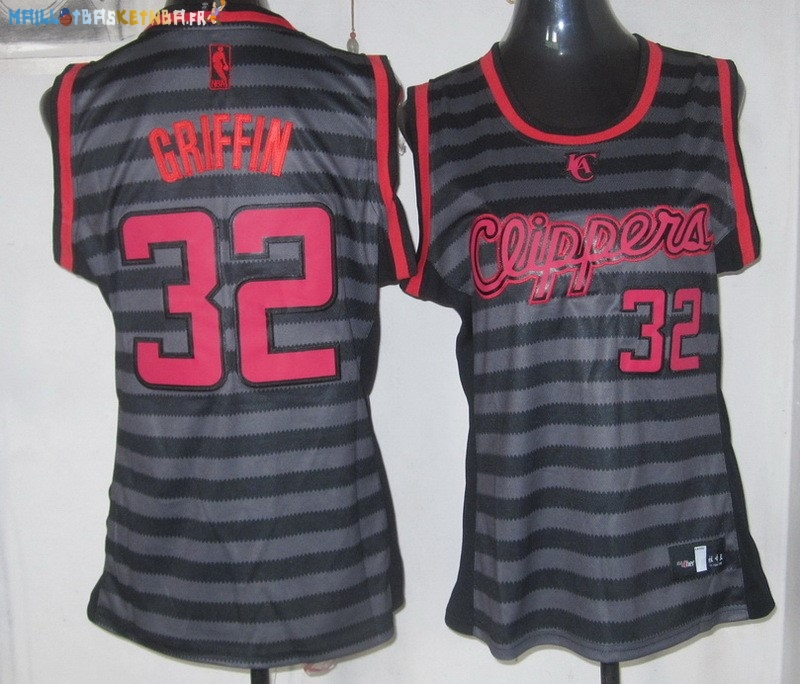 Maillot NBA Femme Groove Fashion NO.32 Blake Griffin Pas Cher