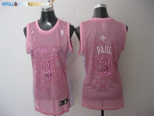 Maillot NBA Femme Los Angeles Clippers NO.32 Blake Griffin Rose Pas Cher