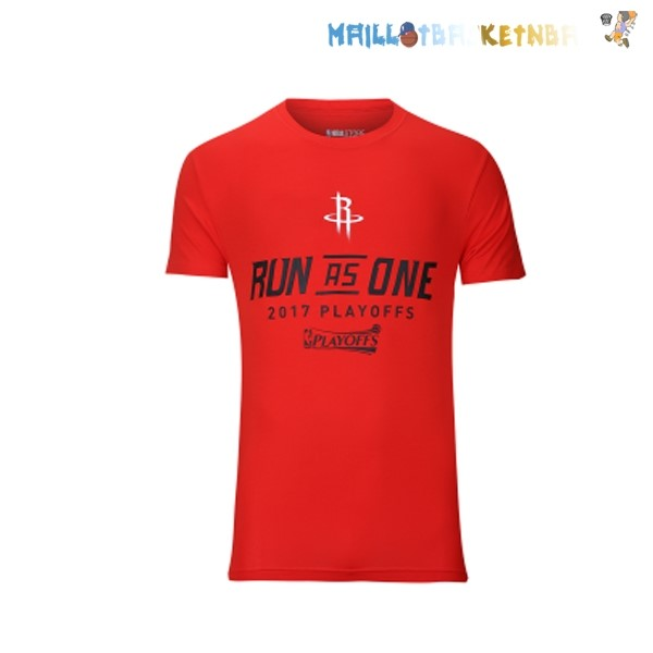 Houston Rockets NBA Playoffs Live Fans Maillot 2017 Pas Cher