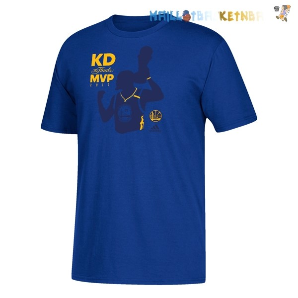 Maillot Golden State Warriors Champions 2017 Kevin Durant MVP Pas Cher