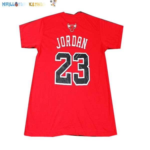 Maillot NBA Chicago Bulls NO.23 Rouge Pas Cher
