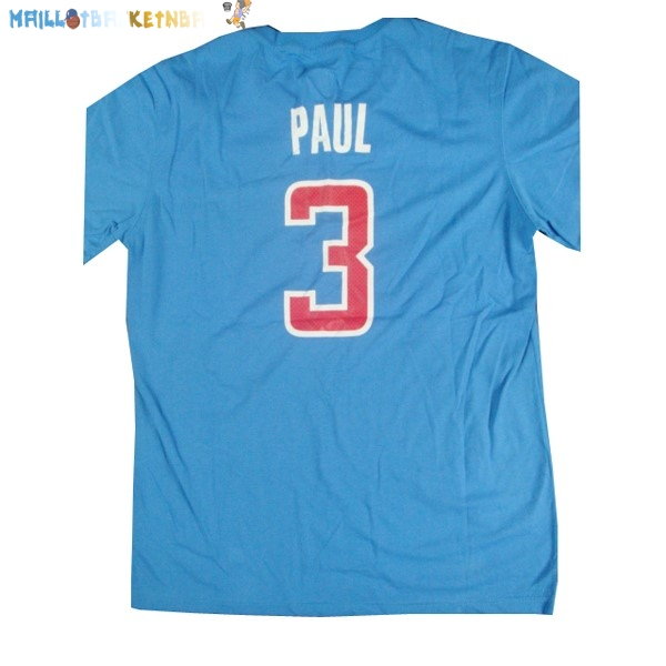 Maillot NBA Los Angeles Clippers NO.3 Paul Bleu Pas Cher