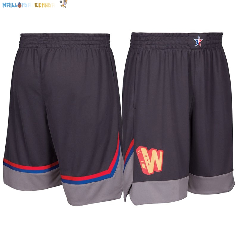 Pantalon NBA 2017 All Star Charbon Pas Cher