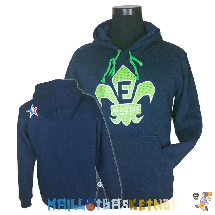 Hoodies NBA 2014 All Star Bleu Pas Cher
