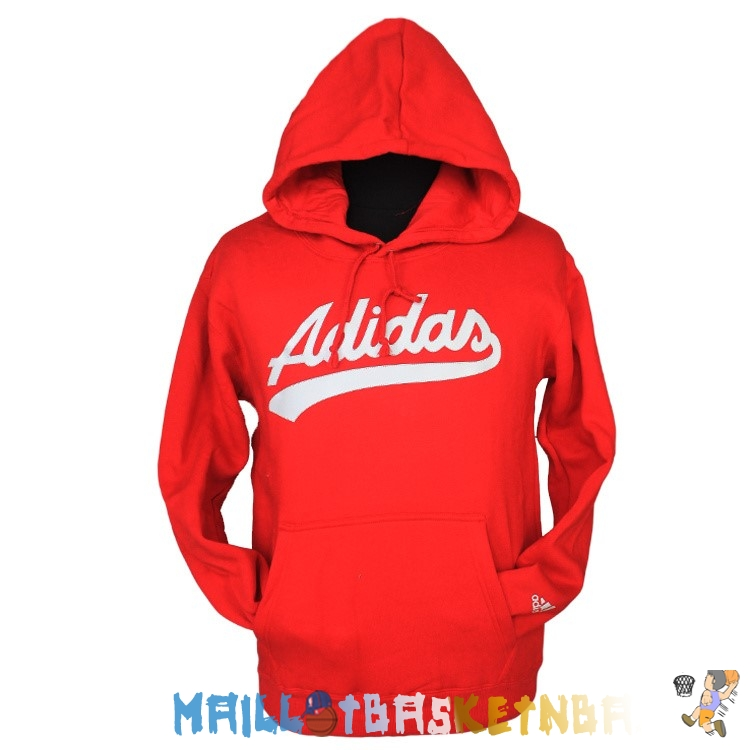 Hoodies NBA 2016 Adidas Rouge Pas Cher