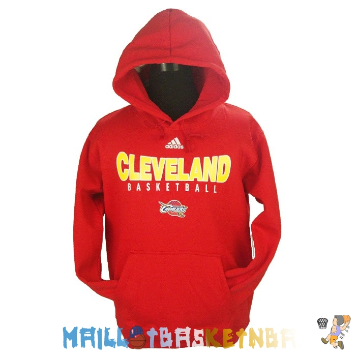 Hoodies NBA 2016 Cleveland Cavaliers Rouge Pas Cher
