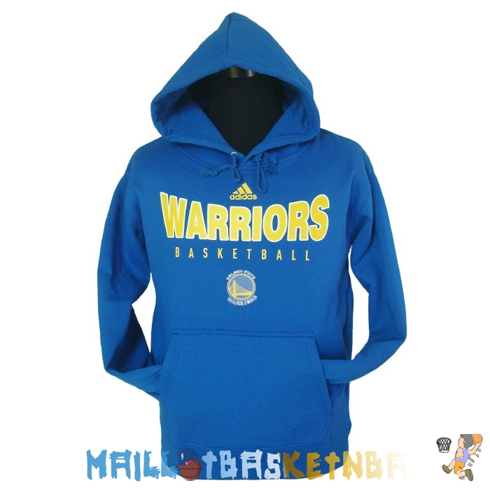 Hoodies NBA Golden State Warriors Bleu 002 Pas Cher