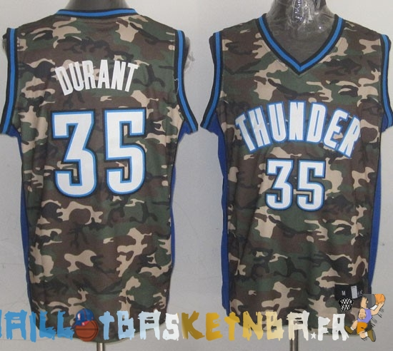 Maillot NBA 2013 Camouflage NO.35 Durant Pas Cher