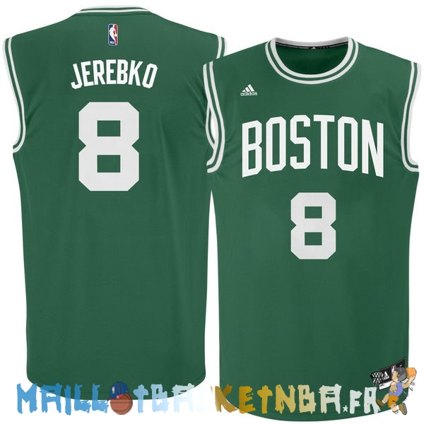 Maillot NBA Boston Celtics NO.8 Jeff Green Vert Pas Cher