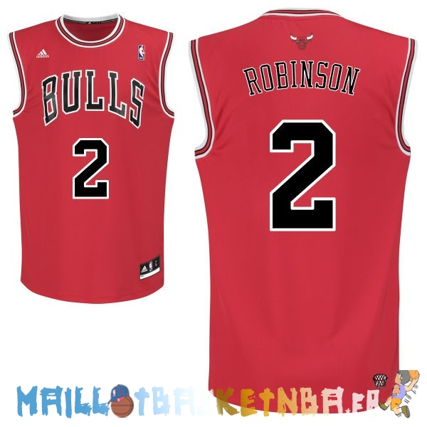 Maillot NBA Chicago Bulls NO.2 Nate Robinson Rouge Pas Cher