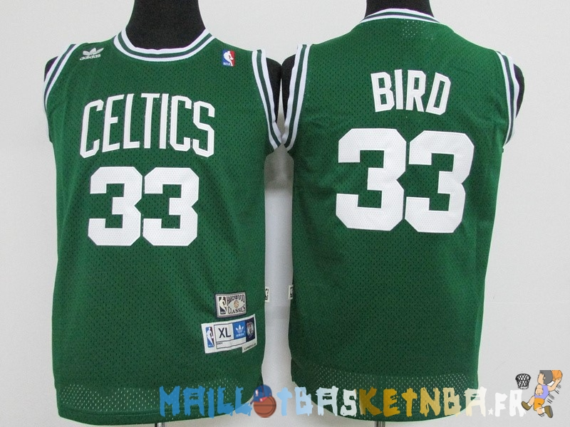 maillot nba enfants boston celtics larry joe bird vert pas cher basket pas cher. Black Bedroom Furniture Sets. Home Design Ideas