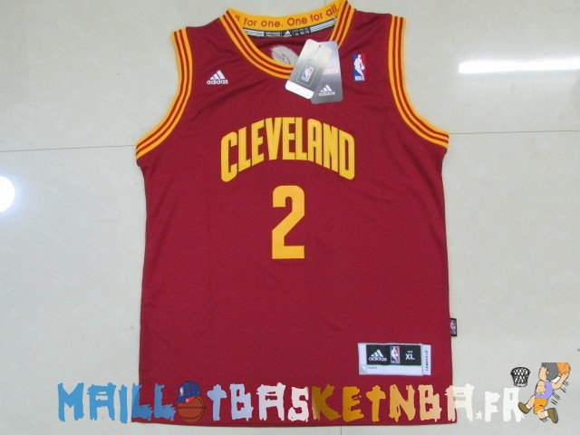 maillot nba enfants cleveland cavaliers no 2 kyrie irving rouge pas cher basket pas cher. Black Bedroom Furniture Sets. Home Design Ideas