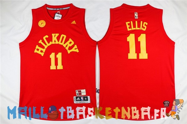 Maillot NBA Indiana Pacers NO.11 Monta Ellis Rouge Pas Cher