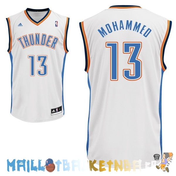 Maillot NBA Oklahoma City Thunder NO.13 James Harden Blanc Pas Cher