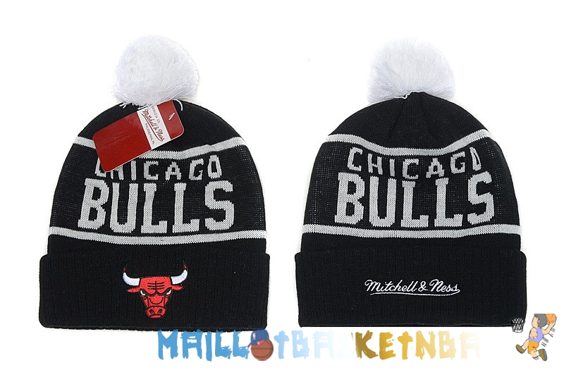 New Era Bonnet NBA 2016 Chicago Bulls Noir Pas Cher