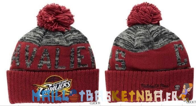 New Era Bonnet NBA 2016 Cleveland Cavaliers Rouge Pas Cher
