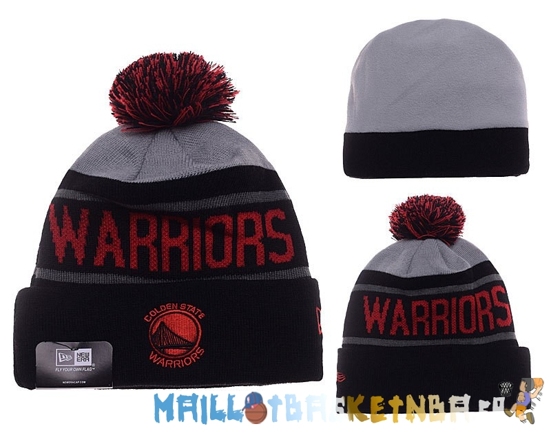 New Era Bonnet NBA 2016 Golden State Warriors Noir Rouge Pas Cher