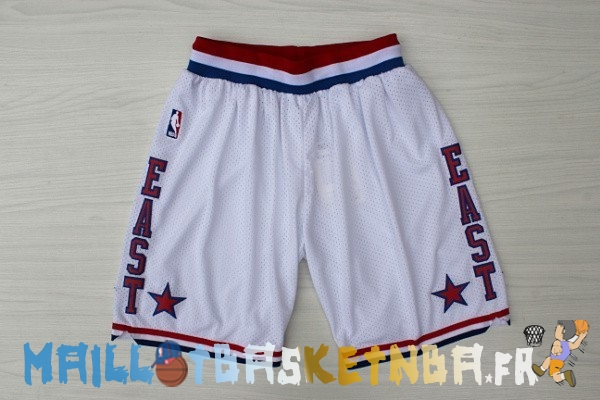 Pantalon NBA 2003 All Star Blanc Pas Cher
